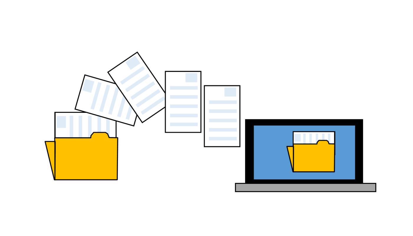 NOUVEAUTÉ – Transfert de documents pour la 2035